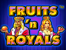 На зеркале казино Вулкан Fruits And Royals